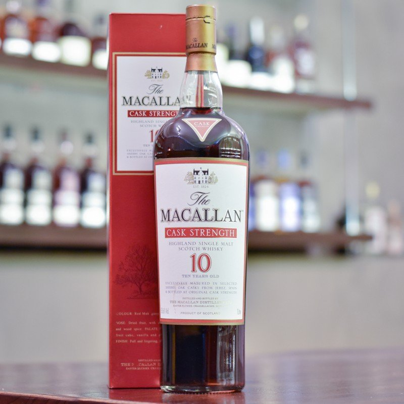 Macallan 10 Year Old Cask Strength 1L 58.6%