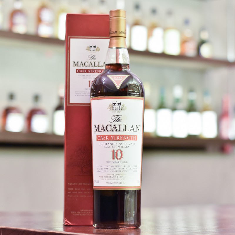 Macallan 10 Year Old Cask Strength 1L 59.3%