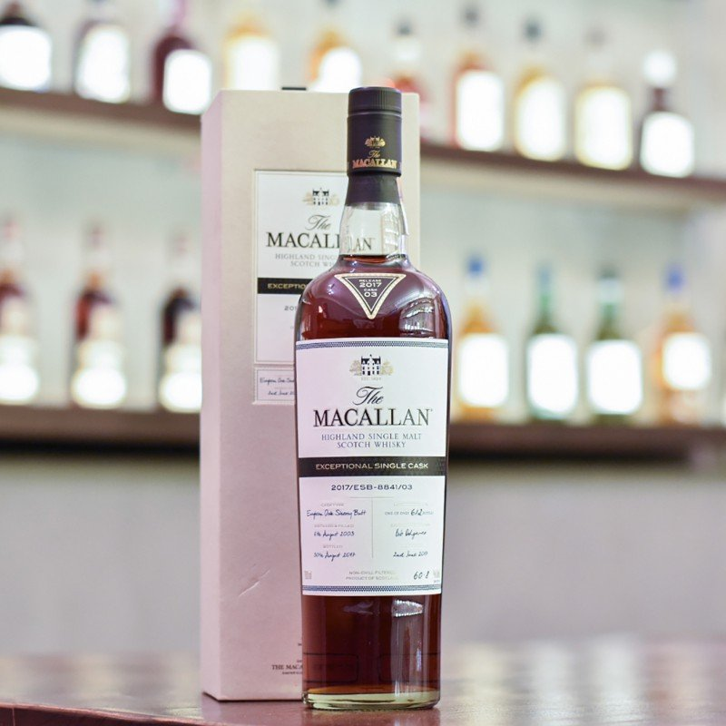Macallan 14 Year Old 2003 Exceptional Cask 8841-03