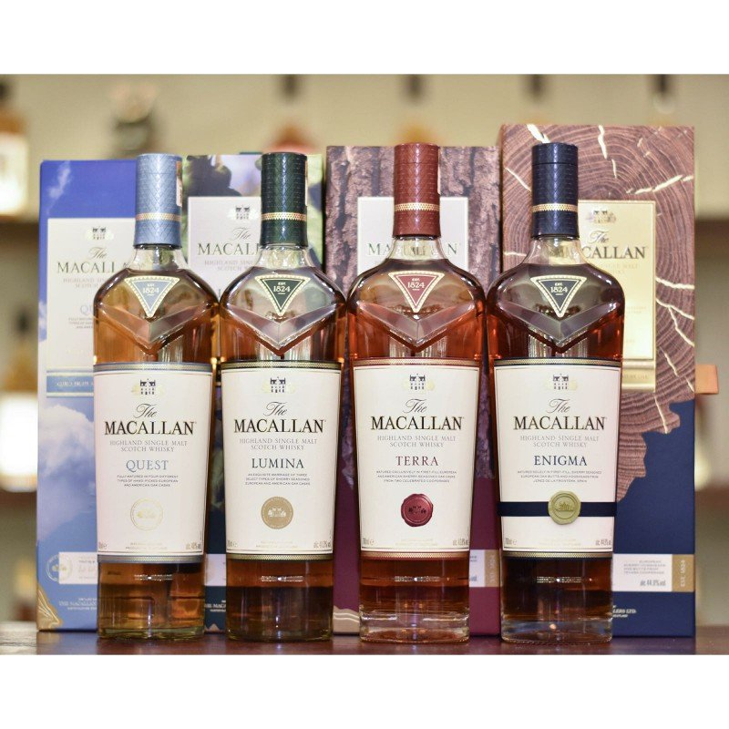 Macallan Quest Collection - Box Set