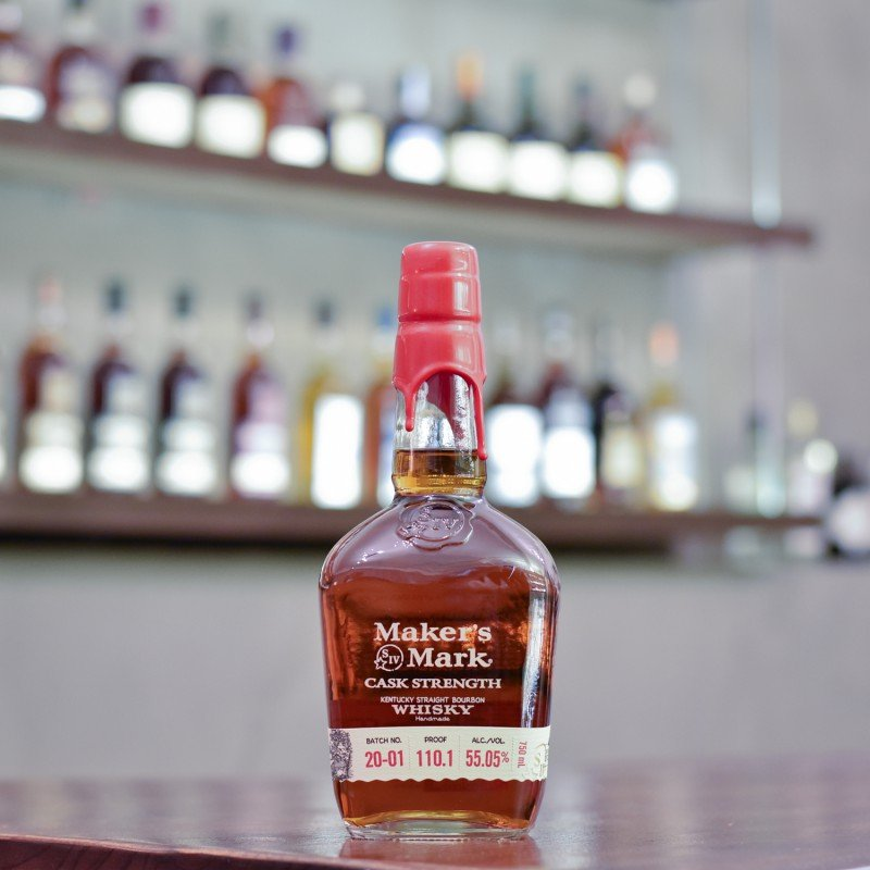 Maker's Mark Cask Strength Bourbon Whiskey