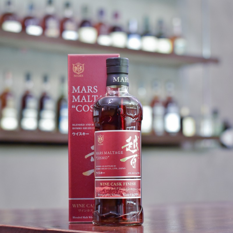 越百 Mars Blended Whisky Cosmo Wine Cask Finish