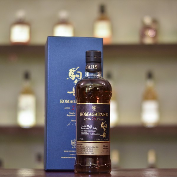Mars Shinshu 27 Year Old 1990 Komagatake Cask 382, 327, 570, 1068