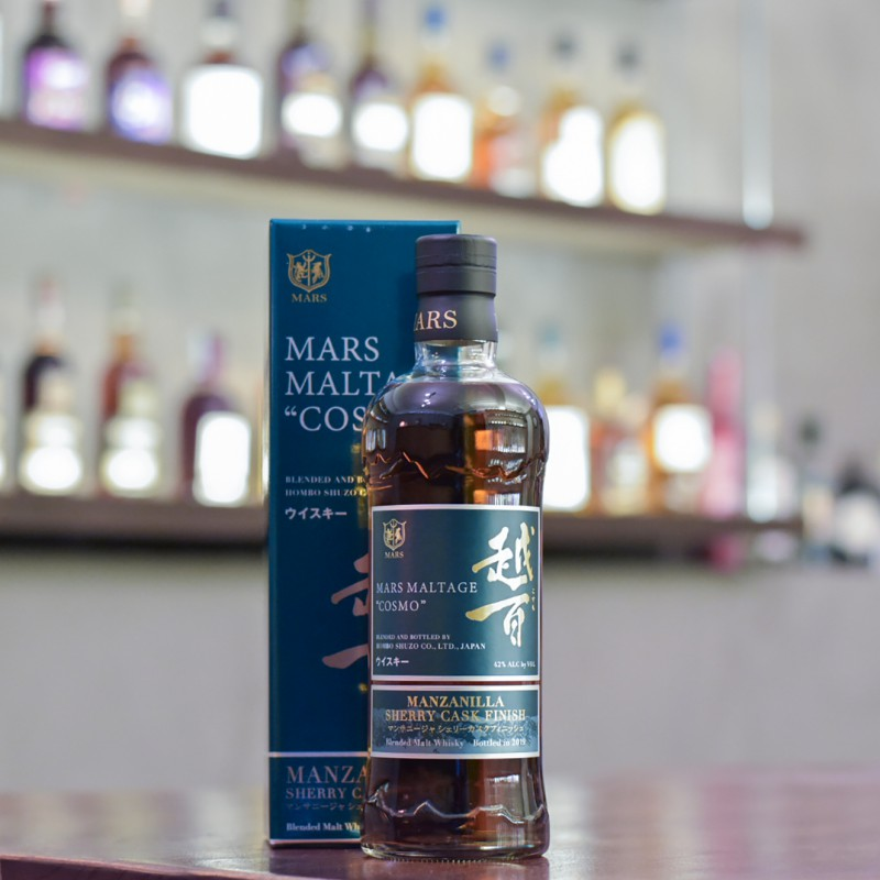 Mars Blended Whisky Cosmo Manzanilla Cask Finish