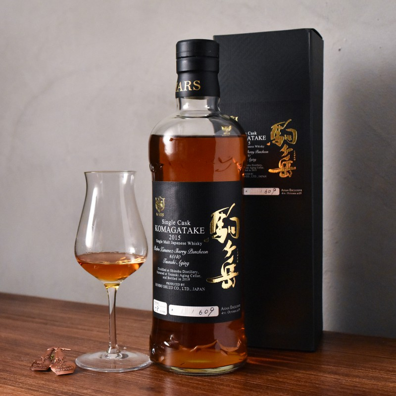 Mars Shinshu 2015-2019 Komagatake Asian Exclusive PX Sherry Cask 5140
