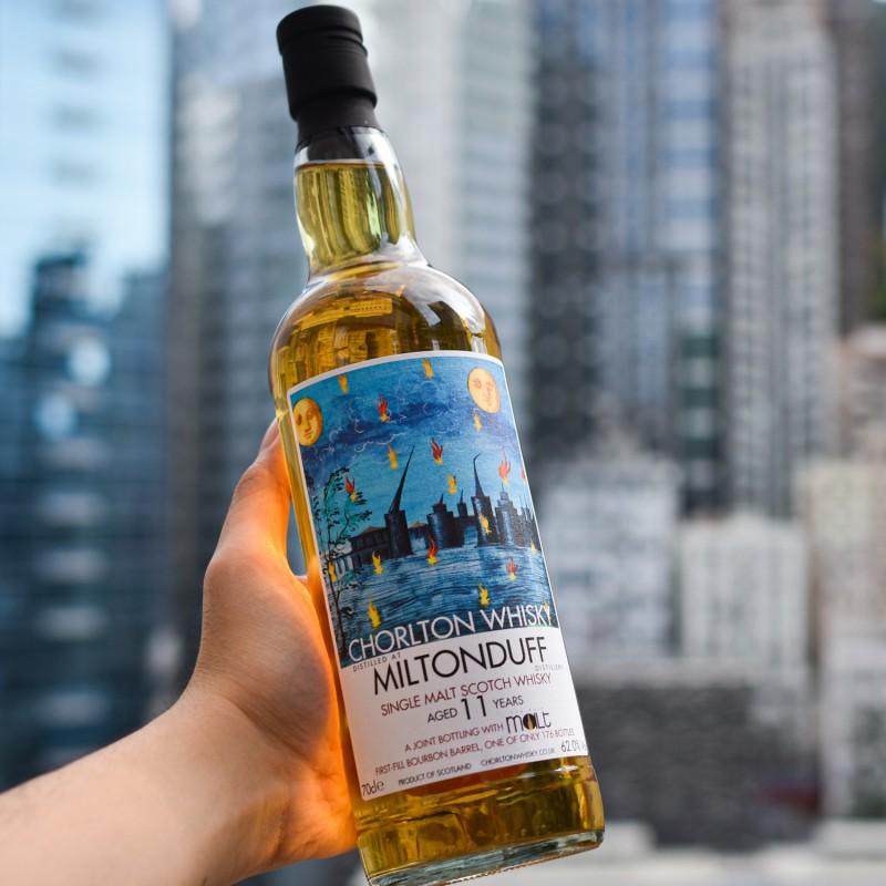 Chorlton Whisky - Miltonduff 11 Year Old for The Rare Malt