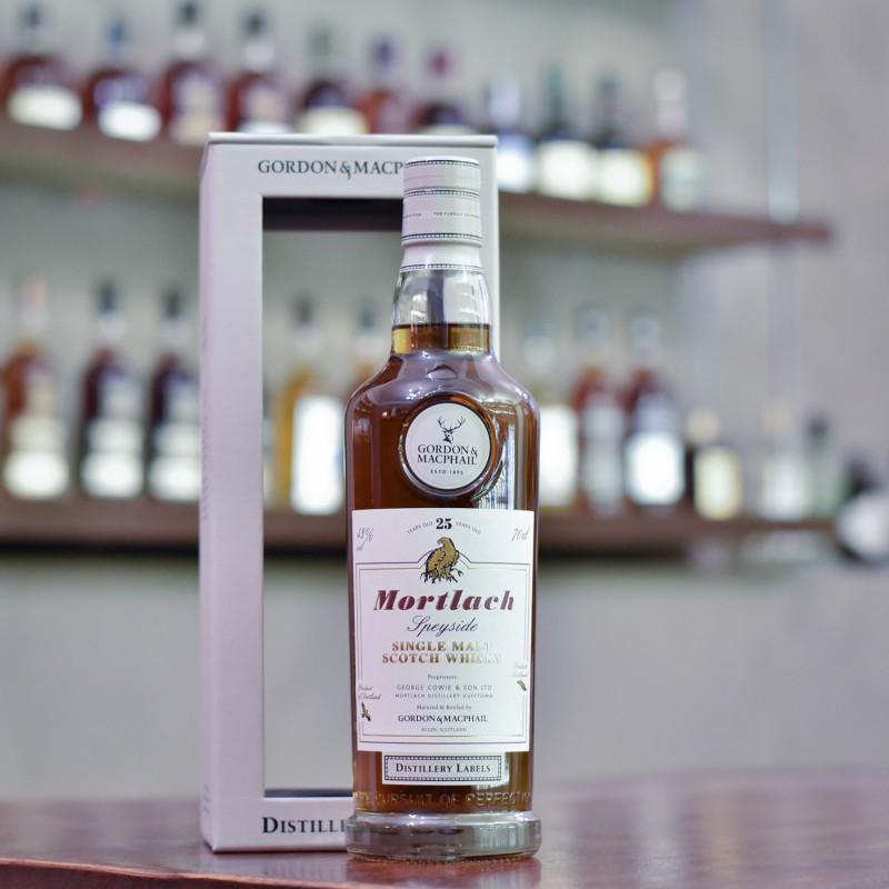 Gordon & MacPhail - Mortlach 25 Year Old Distillery Labels
