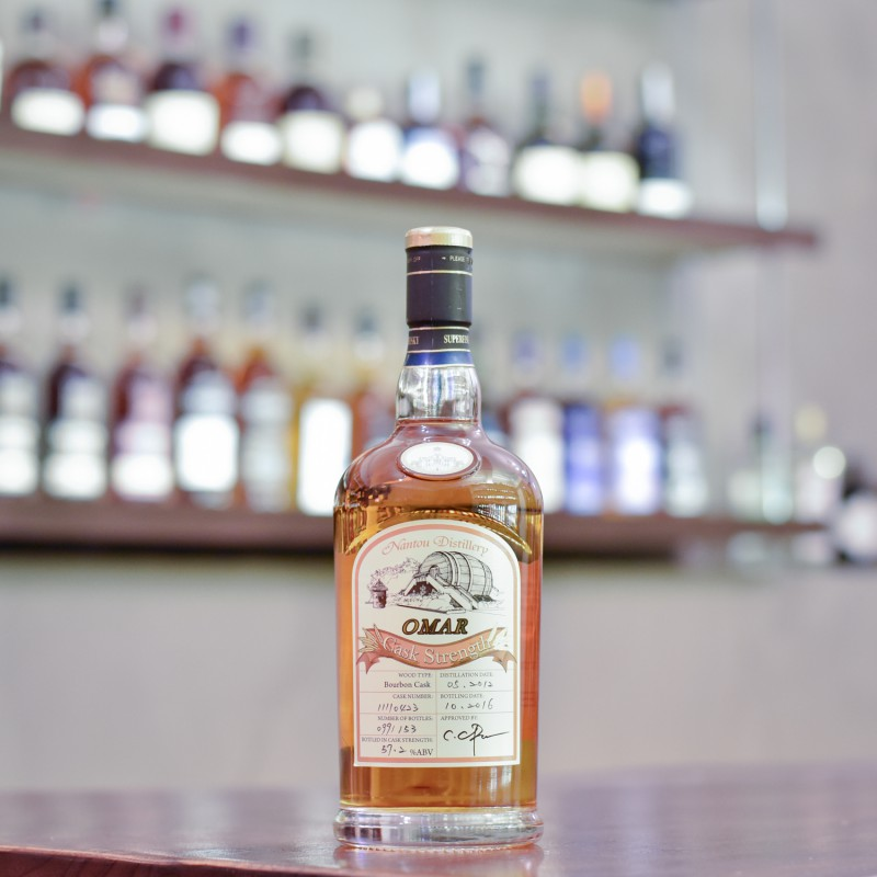 Nantou Omar 4 Year Old 2012 Single Cask 11110423