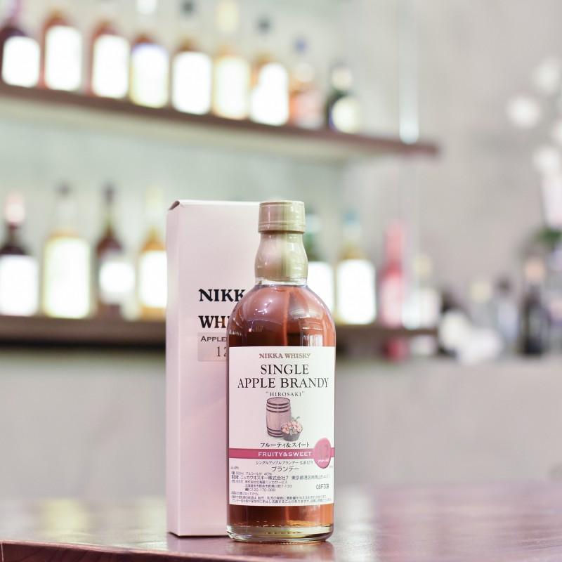 Nikka Single Apple Brandy 12 Year Old - Fruity & Sweet