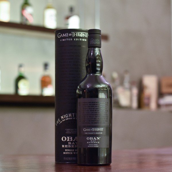 Oban Little Bay Reserve - Game Of Thrones The Night's Watch