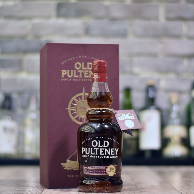 Old Pulteney 34 Year Old 1983