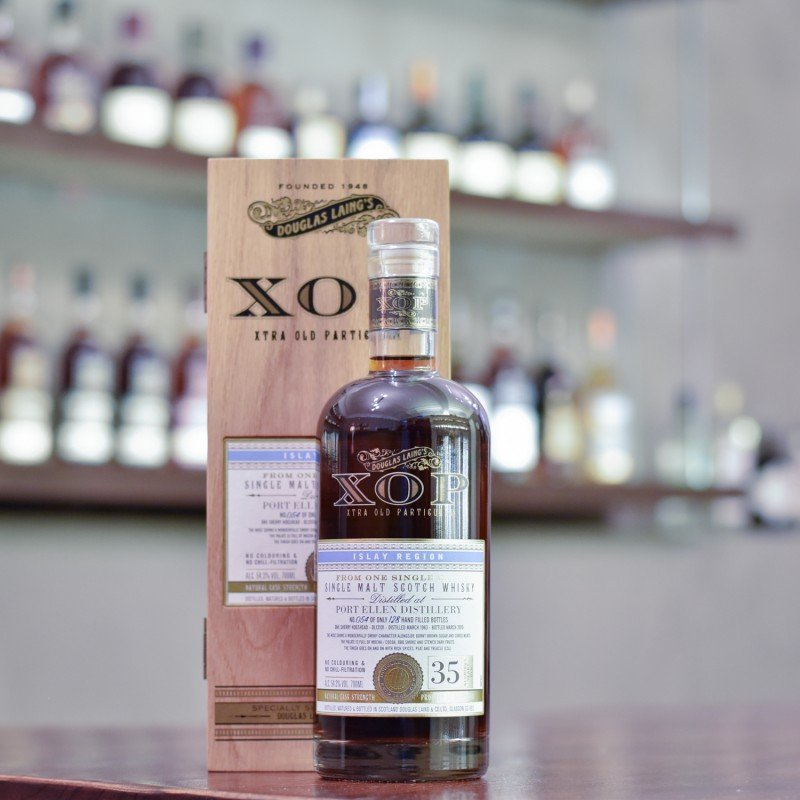 XOP - Port Ellen 35 Year Old 1983 Sherry Hogshead DL 13101