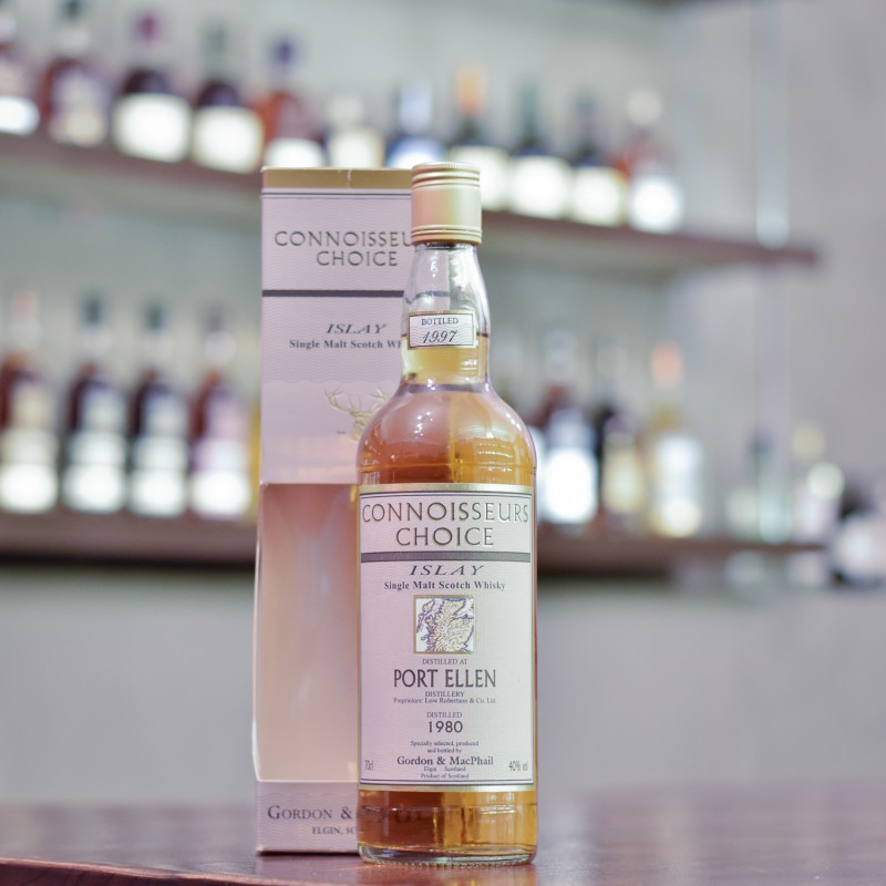 Gordon & MacPhail - Port Ellen 17 Year Old 1980 Connoisseurs Choice