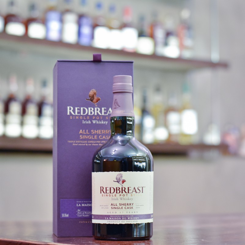 Redbreast 17 Year Old 2001 Single Sherry Cask 26494