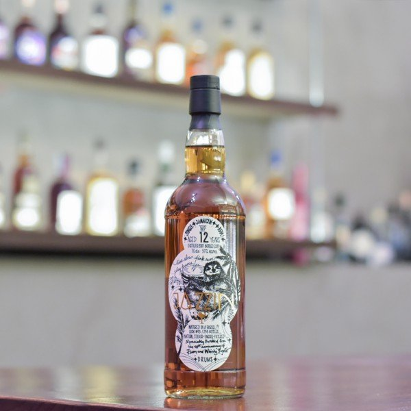 The Whiskyfind - Jamaican 12 Year Old 2007 Jazzin: Drums for Rum and Whisky Kyoto Cask 93