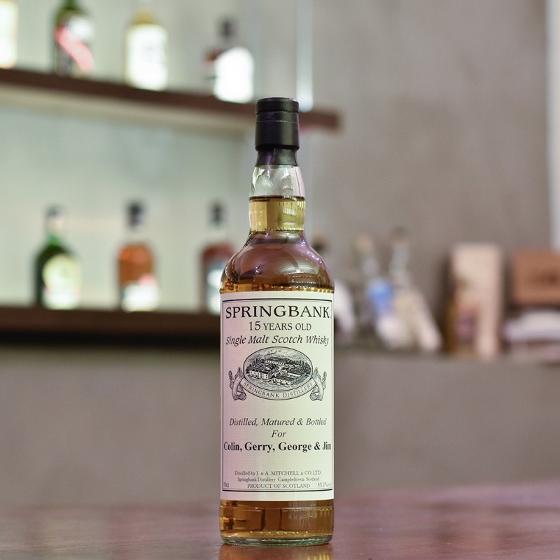 Springbank 15 Year Old 1993 Private Cask 537