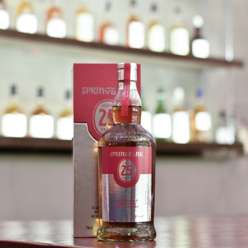 Springbank 25 Year Old 2019 Release