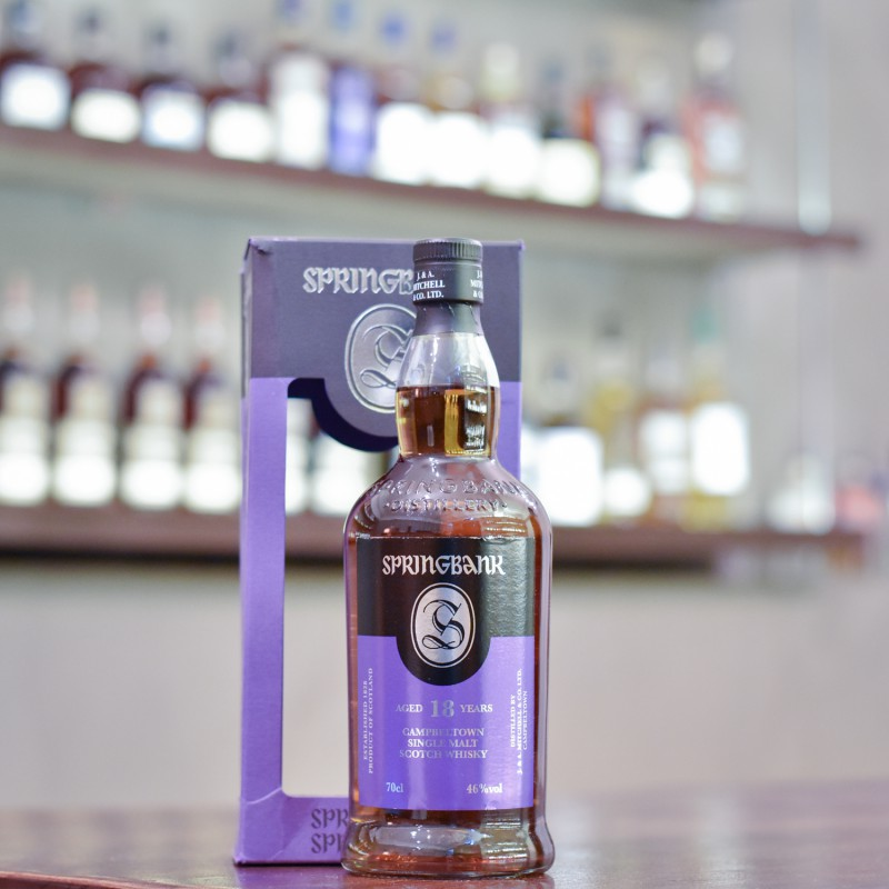 Springbank 18 Year Old (Imperfect Box)