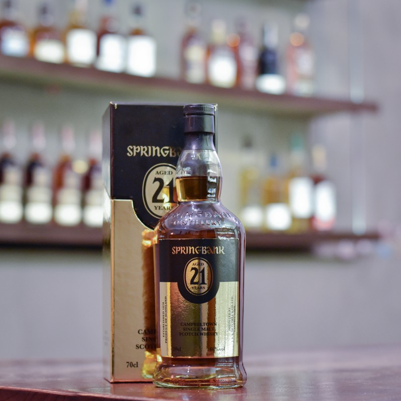 Springbank 21 Year Old (Imperfect Label)