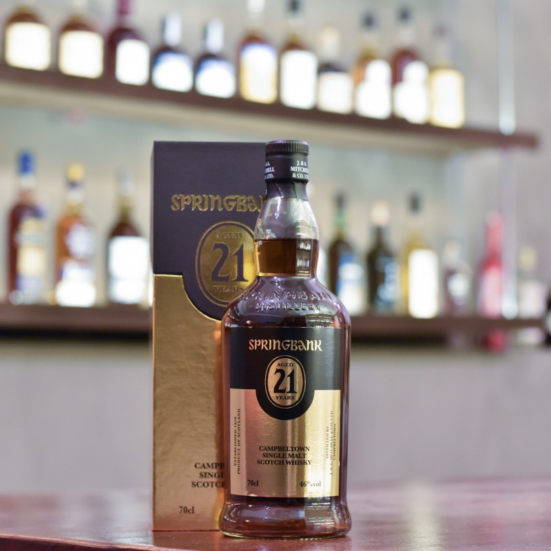 Springbank 21 Year Old 2019 Release
