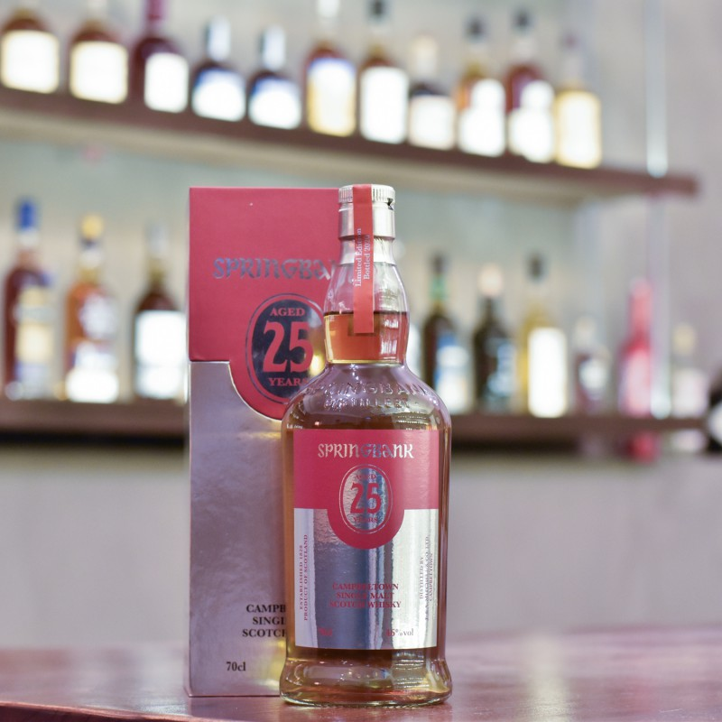 Springbank 25 Year Old 2020 Release
