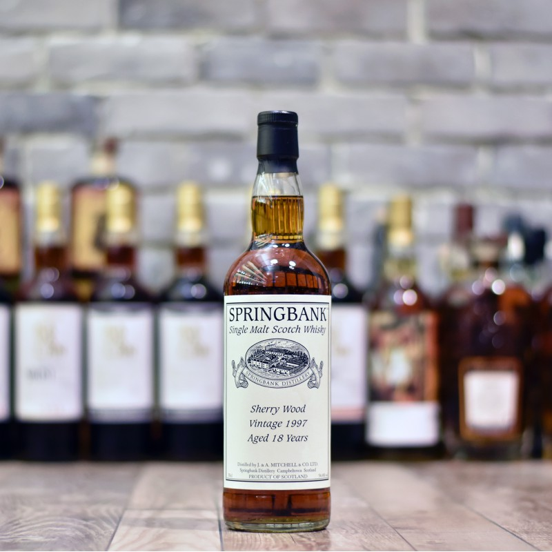Springbank 18 Year Old 1997 Sherry Cask