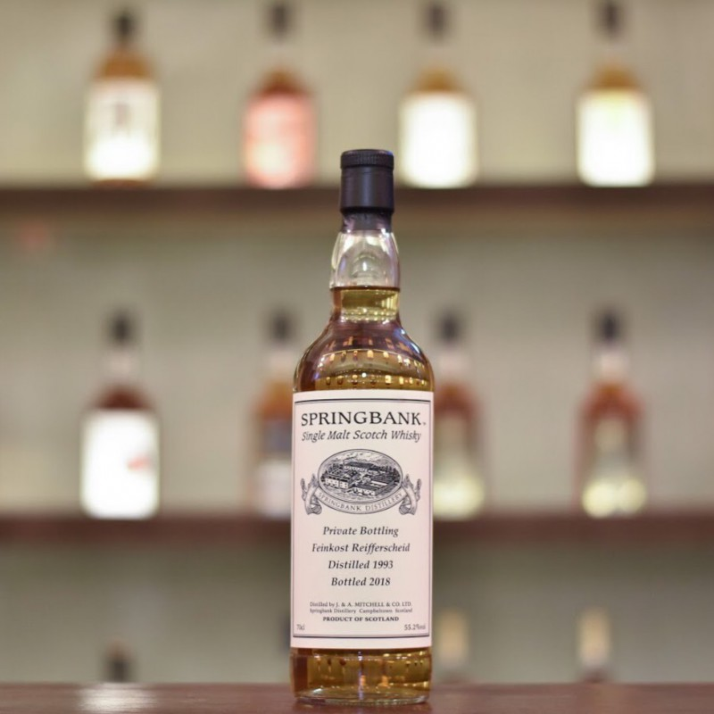 Springbank 25 Year Old 1993 for Feinkost Reifferscheid Cask 596