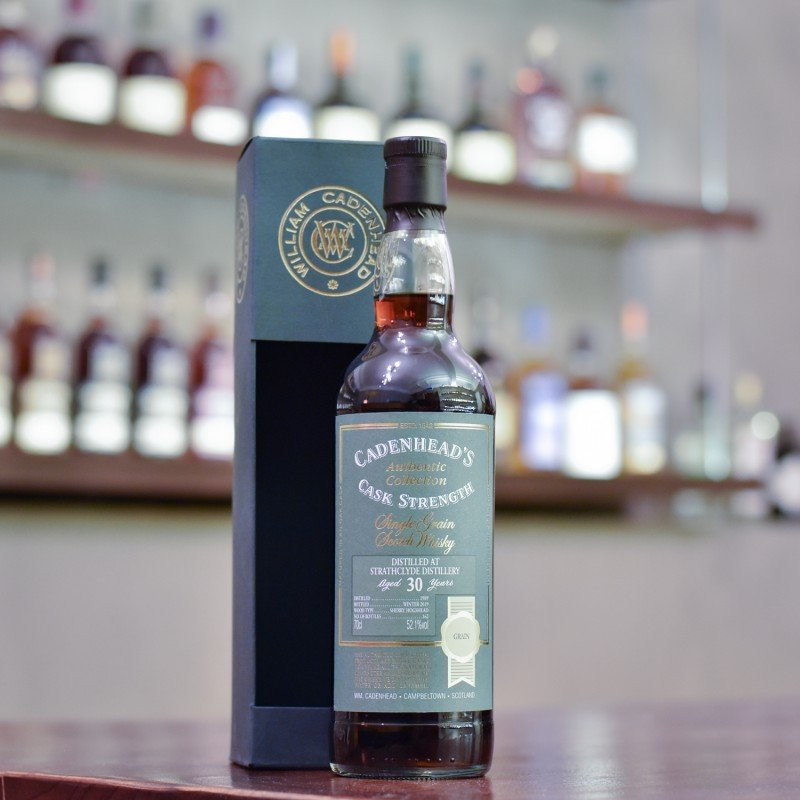 Cadenhead - Strathclyde 30 Year Old 1989 Authentic Collection Fresh Oloroso Hogshead Finish