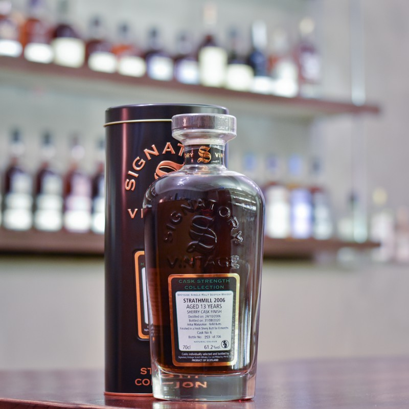 Signatory - Strathmill 13 Year Old 2006 Cask 6