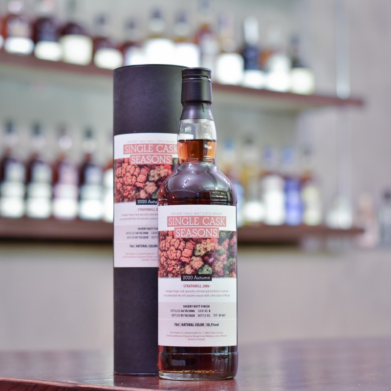 Signatory - Strathmill 13 Year Old 2006 Single Cask Season Cask 8