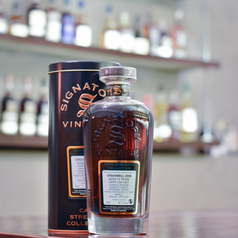 Signatory - Strathmill 13 Year Old 2006 Cask 2