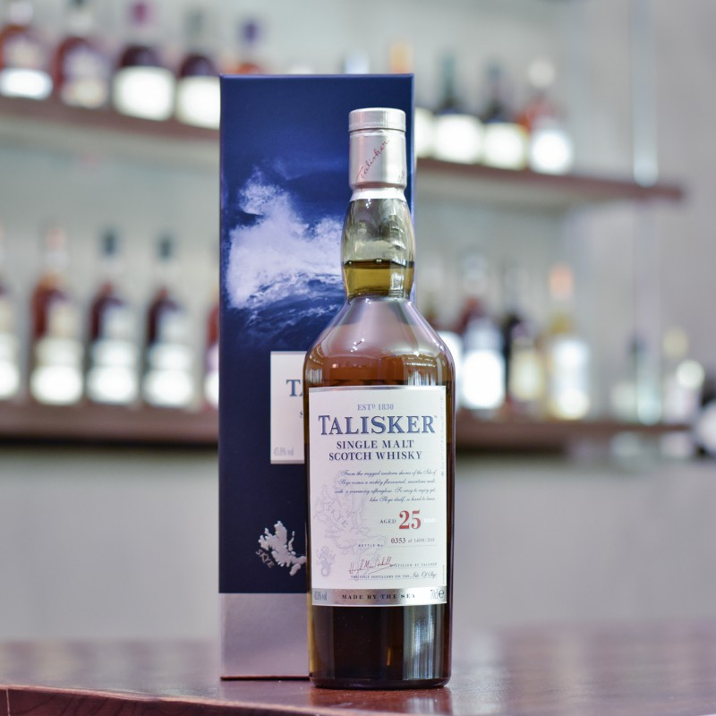 Talisker 25 Year Old 2018 Release