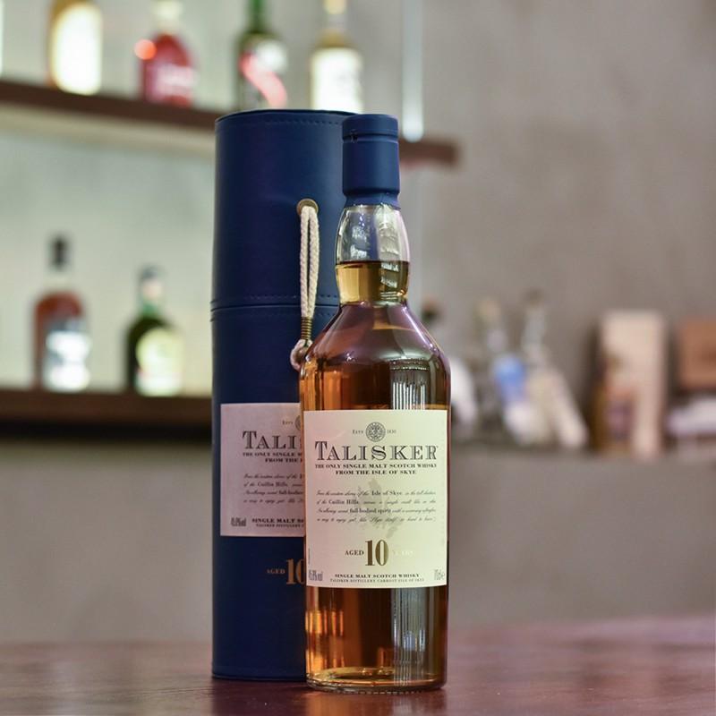 Talisker 10 Year Old - Older Bottling in Gift Tube