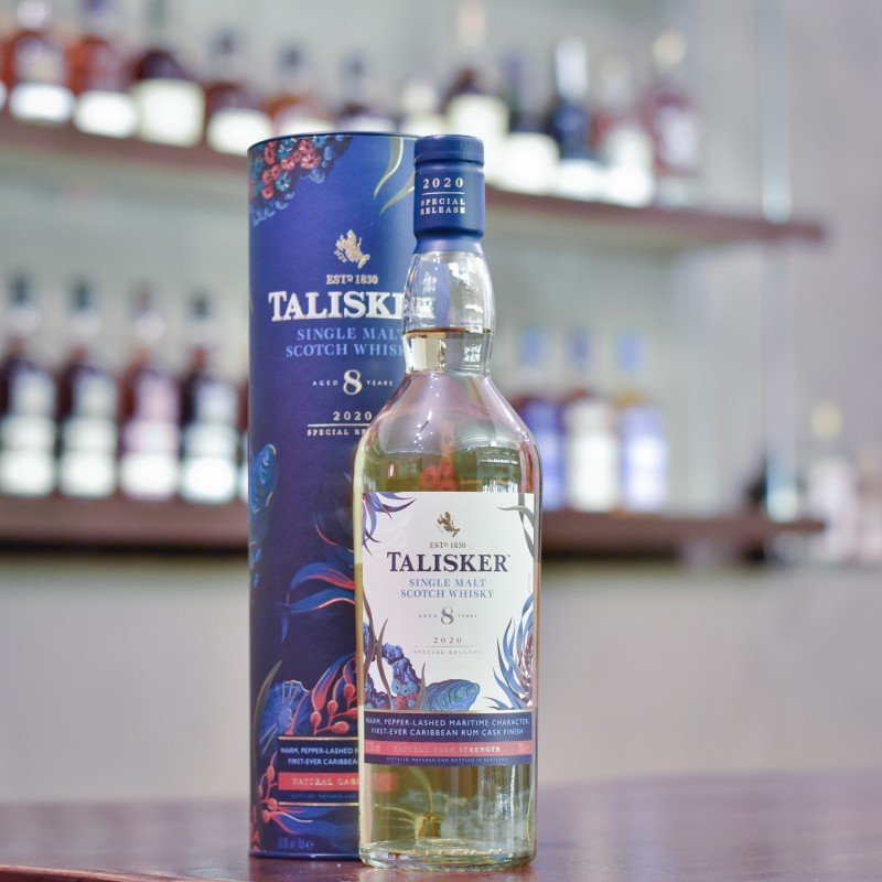 Talisker 8 Year Old Cask Strength 2020 Special Release