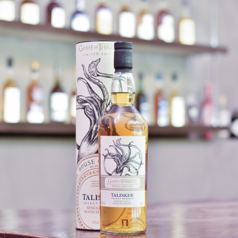Talisker Select Reserve - Game Of Thrones House Greyjoy