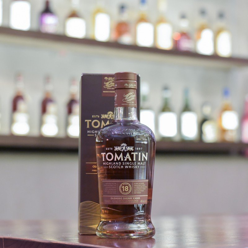 Tomatin 18 Year Old Oloroso Sherry Casks