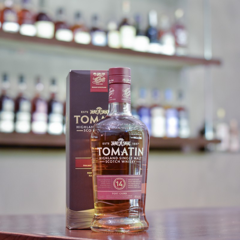 Tomatin 14 Year Old Port Casks