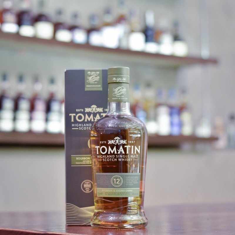 Tomatin 12 Year Old Bourbon & Sherry Casks