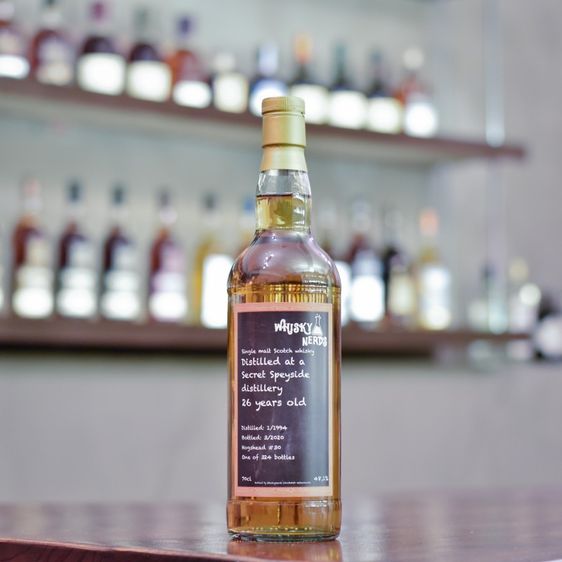 WhiskyNerds - Secret Speyside 26 Year Old 1994 Cask 30