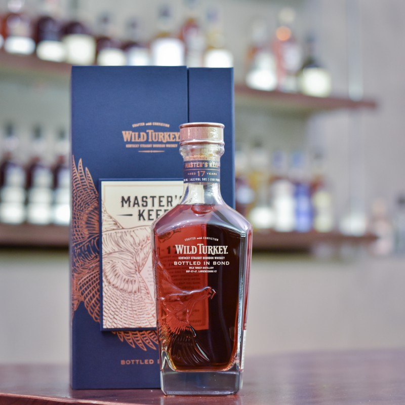 Wild Turkey 17 Year Old Master's Keep Bourbon Whiskey