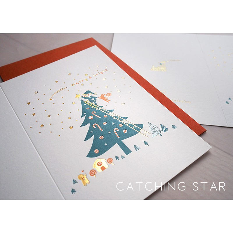ditto ditto - Letterpress Christmas Card